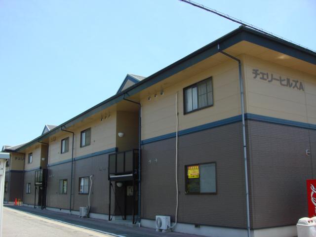 物件番号: 1110305399 チェリーヒルズB  富山市赤田 3DK アパート 外観画像