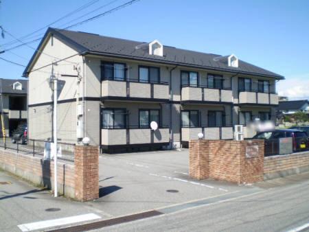 物件番号: 1110302938 ガーラウエストB  富山市堀川町 2LDK アパート 外観画像
