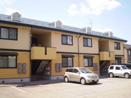 物件番号: 1110300405 ガーラA  富山市堀川 2DK アパート 外観画像