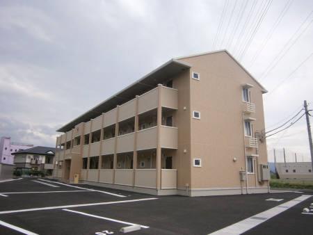 物件番号: 1110302151 リヴェール オッツ  富山市赤田 1LDK アパート 外観画像