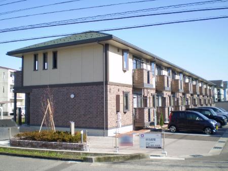 物件番号: 1110301797 アスターハイツ  富山市粟島町1丁目 1LDK アパート 外観画像