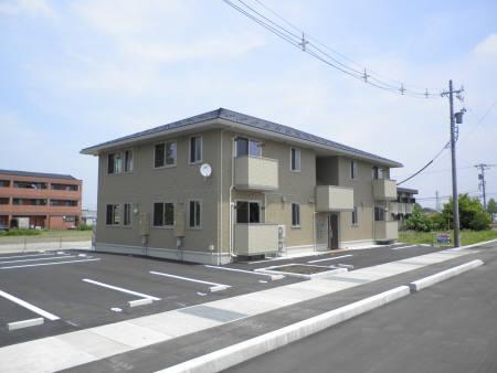 物件番号: 1110301366 プラムハウス  富山市才覚寺 1LDK アパート 外観画像
