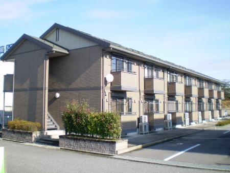物件番号: 1110301903 リシェス・オカザキⅡ  富山市黒崎 1LDK アパート 外観画像