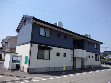 物件番号: 1110308911 ニューセジュールM  富山市下奥井1丁目 2DK アパート 外観画像