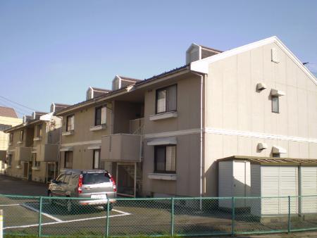 物件番号: 1110301085 FCはうす B棟  富山市堀川町 3DK アパート 外観画像