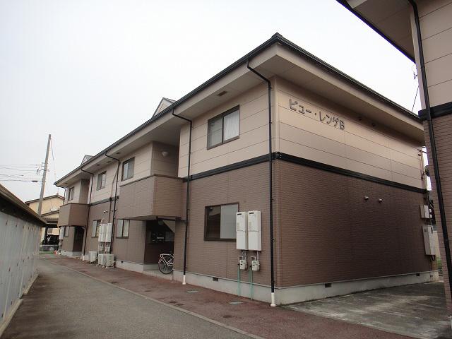 物件番号: 1110301241 ビューレンゲB  富山市上飯野 2LDK アパート 外観画像