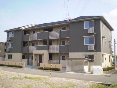 物件番号: 1110306111 メゾンドレッセ  富山市黒瀬 1LDK アパート 外観画像