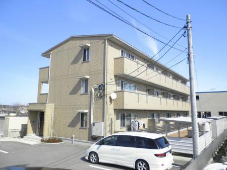 物件番号: 1110307974 フェリスさくら  富山市黒瀬 1LDK アパート 外観画像