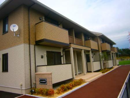 物件番号: 1110306657 リシェス・オカザキⅤ  富山市黒崎 1LDK アパート 外観画像