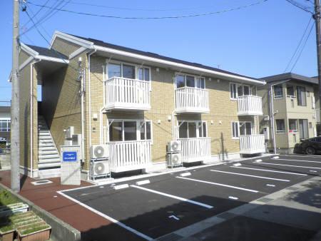 物件番号: 1110303502 グランモア愛宕Ⅱ  富山市愛宕町1丁目 1LDK アパート 外観画像