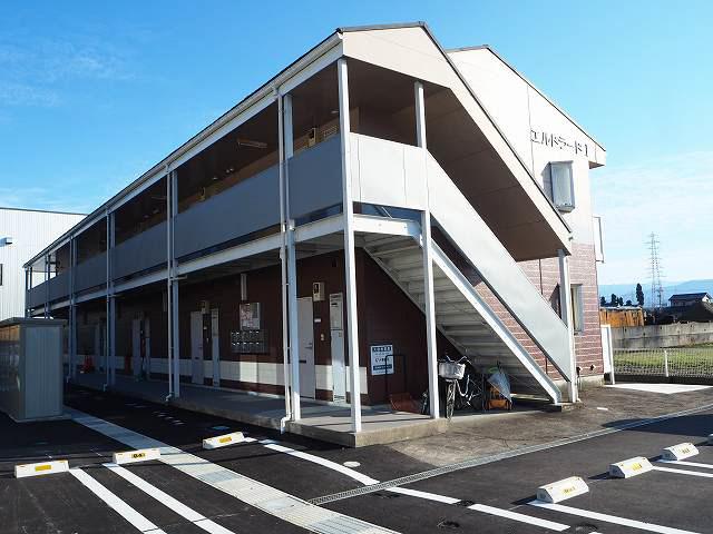 物件番号: 1110309054 エルドラードⅠ  富山市赤田 2DK アパート 外観画像