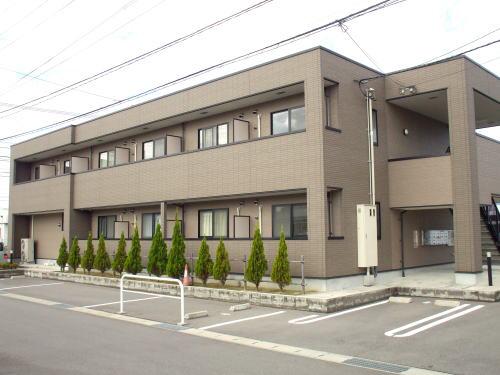 物件番号: 1110302108 アロマ・フォーレⅢ  富山市黒崎 1K アパート 外観画像