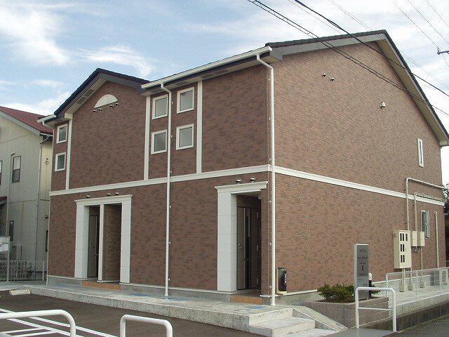 物件番号: 1110309213 サニーパティオⅡ  富山市長江4丁目 1K アパート 外観画像