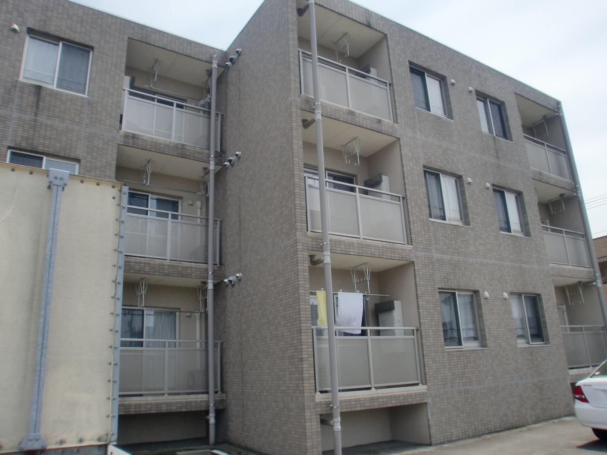 物件番号: 1110308650 ハートフルマンションシンシア  富山市西長江1丁目 1LDK マンション 外観画像