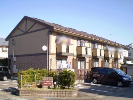 物件番号: 1110307878 メゾンリッシュ  富山市豊田本町 2LDK テラスハウス 外観画像