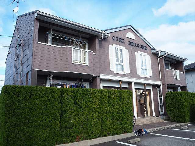 物件番号: 1110308474 シェルブランシェ  富山市小杉 2LDK アパート 外観画像