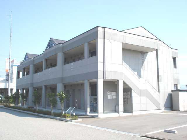 物件番号: 1110308194 アイディールK  富山市黒崎 1LDK アパート 外観画像