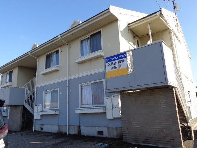 物件番号: 1110308907 ライブタウンKUBO  富山市窪本町 2DK アパート 外観画像