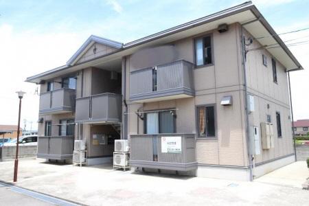 物件番号: 1110308059 ビューアベリア  富山市下新町 2LDK アパート 外観画像