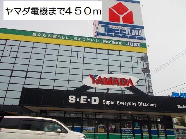 物件番号: 1110307559 プルミエール手屋Ⅱ  富山市手屋3丁目  1LDK アパート 画像15