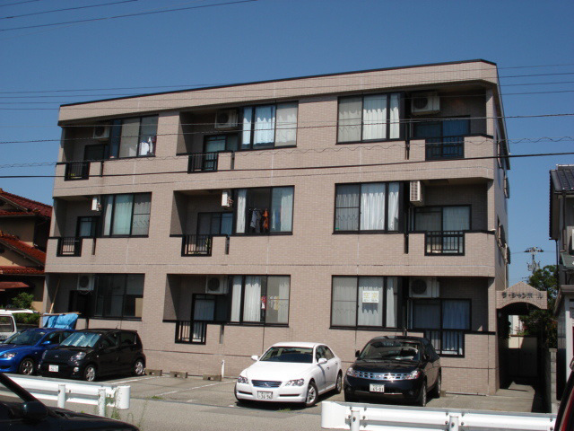 物件番号: 1110307738 ラ・シャンポール  富山市新根塚町2丁目 2LDK マンション 外観画像