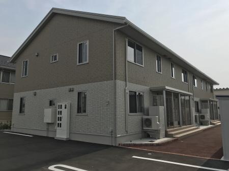物件番号: 1110307983 ボナールみなみ  富山市向新庄町2丁目 2LDK アパート 外観画像