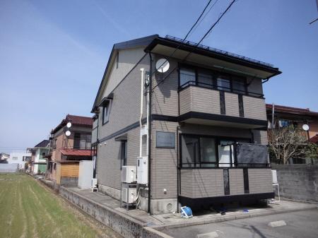 物件番号: 1110308297 セジュール清風Ⅱ  富山市粟島町3丁目 1K アパート 外観画像