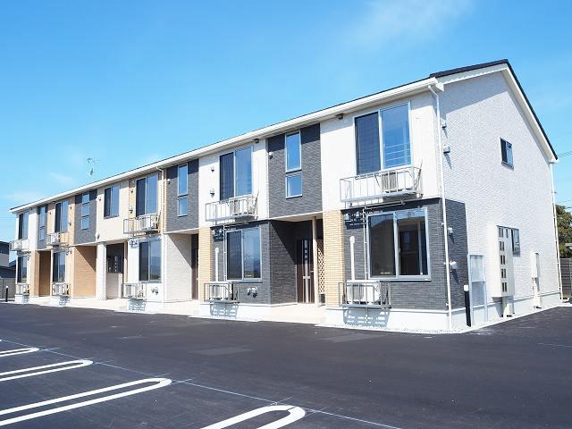 物件番号: 1110305291 Cuore  富山市婦中町中名字阿弥大地 1LDK アパート 外観画像