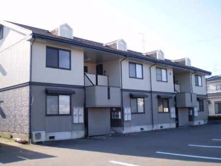 物件番号: 1110307973 セジュール経堂 A棟  富山市経堂 1LDK アパート 外観画像