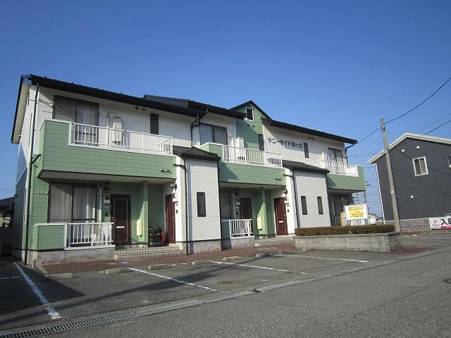 物件番号: 1110301869 サニーサイド松ヶ丘  富山市山室荒屋 2DK アパート 外観画像
