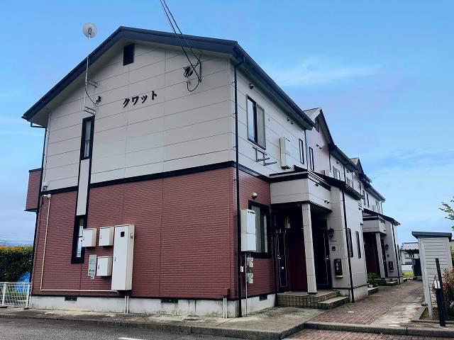 物件番号: 1110304902 クワット  富山市上大久保 2DK アパート 外観画像