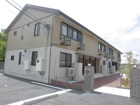 物件番号: 1110303083 D-room本郷新Ⅱ  富山市本郷新 1LDK アパート 外観画像
