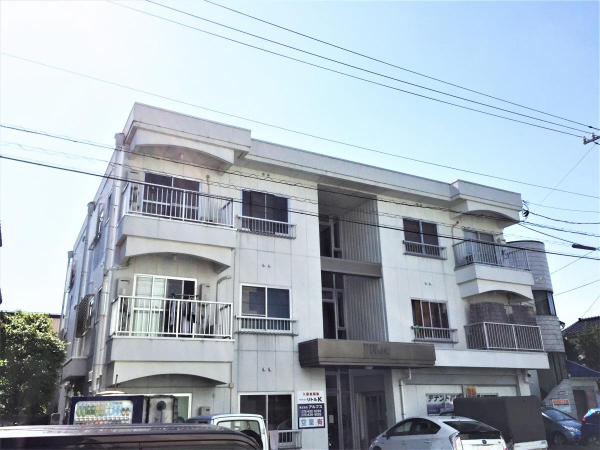 物件番号: 1110303473 リトルK  富山市高屋敷 1R アパート 外観画像