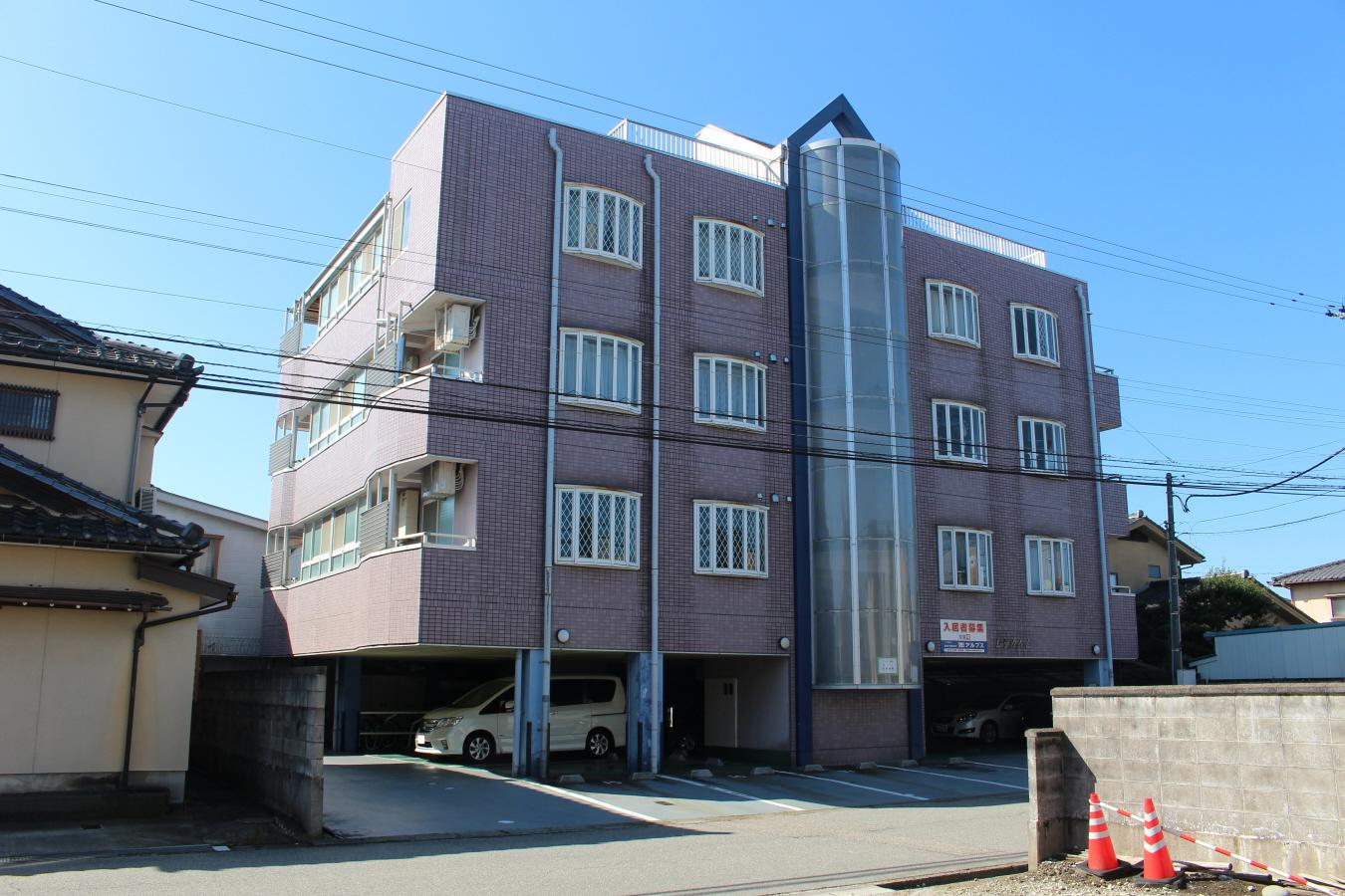 物件番号: 1110300384 レラカムイ  富山市布瀬町南2丁目 2LDK マンション 外観画像