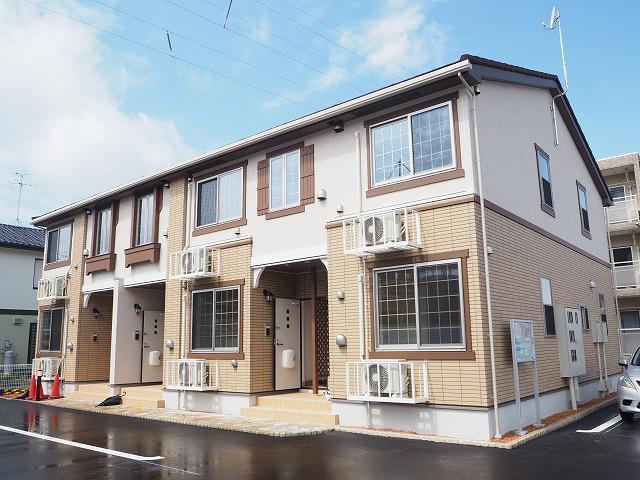 物件番号: 1110303897 エトワール八尾Ⅳ  富山市八尾町福島7丁目 1LDK アパート 外観画像