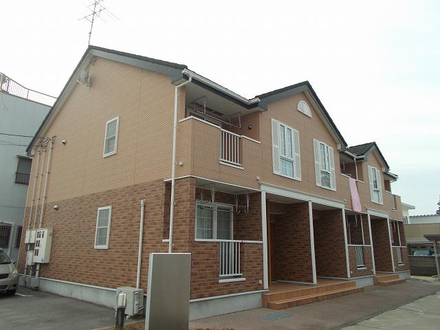 物件番号: 1110306671 アクアフェート  富山市水橋町 2LDK アパート 外観画像