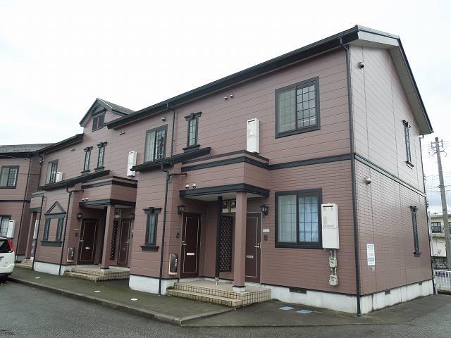 物件番号: 1110302423  富山市中川原 2DK アパート 外観画像