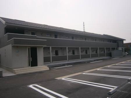 物件番号: 1110308651 D-room赤田  富山市赤田 1LDK アパート 外観画像