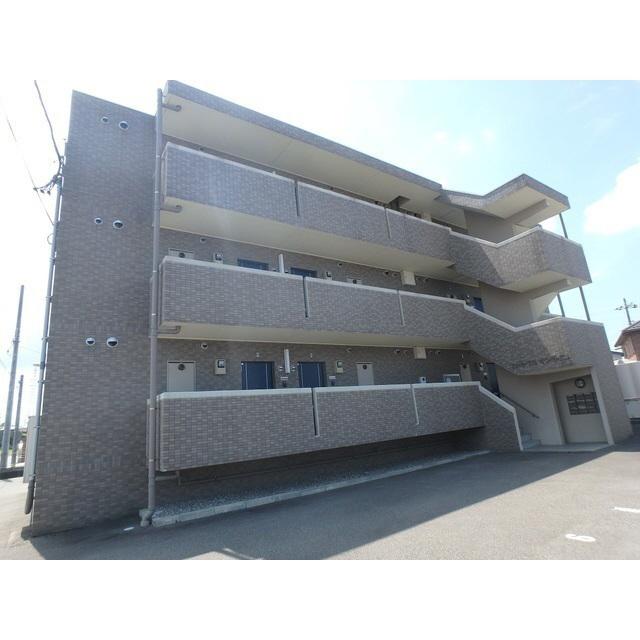物件番号: 1110306169 ハートフルサンライズ  富山市経堂 1LDK マンション 外観画像