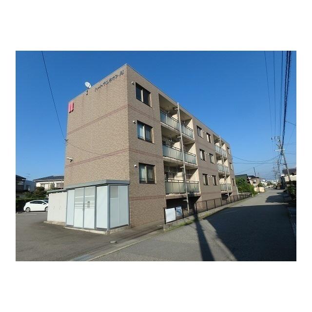 物件番号: 1110308971 ハートフルタウンAi  富山市太田 1LDK マンション 外観画像