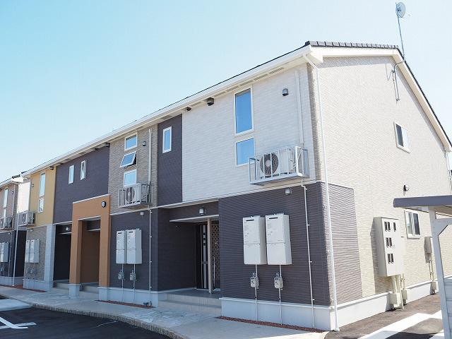 物件番号: 1110303344 アルモニーA  富山市赤田 2LDK アパート 外観画像